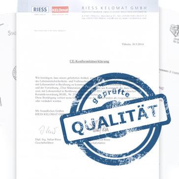 Zertifizierungen für die HOwa O2